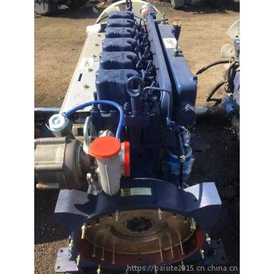 潍柴WP12.380E32电喷国三发动机 280kW卡车用蓝擎WP12系列柴油机