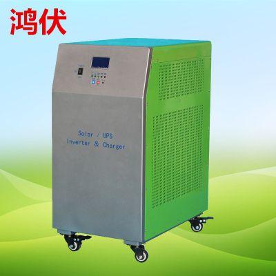全新纯铜变压器打造2KW太阳能工频逆变器 光伏离网逆变器 太阳能逆控一体机寿命长久