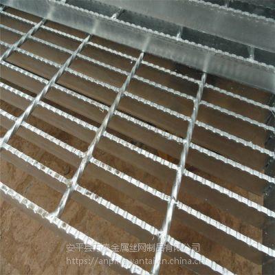 北京钢格栅板订制 热镀锌钢格栅盖板 下水沟盖板尺寸