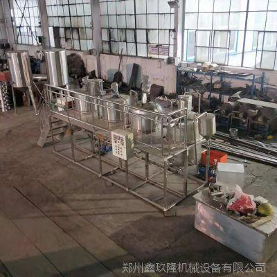 优质液压榨油机 小型精炼油设备
