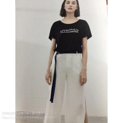 哈尔滨折扣女装批发一手货源专柜正品海贝夏装精品连衣裙特卖场货源
