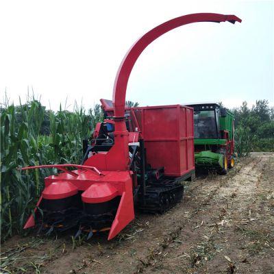 山东菏泽青储机 履带式玉米秸秆青贮机 自走式粉碎还田机
