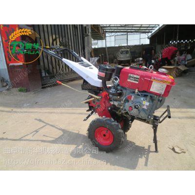 柴油四驱式微耕机 茶园硬地碎土机 家用小型微耕机