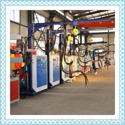 车库门夹层浇注聚氨酯PU高压发泡机械器价格