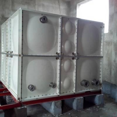 重庆13吨装配式玻璃钢水箱-中祥空调