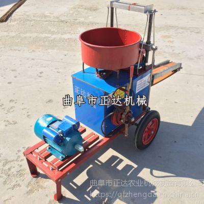 蔬菜大棚育苗装土机 营养土制钵机装杯机价格