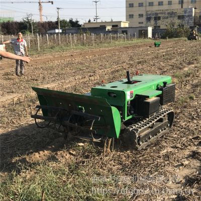 果树种植开沟施肥机 启航牌果园旋耕除草机