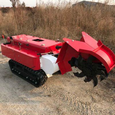 柴油开沟施肥机 单独开沟机 履带式旋耕机