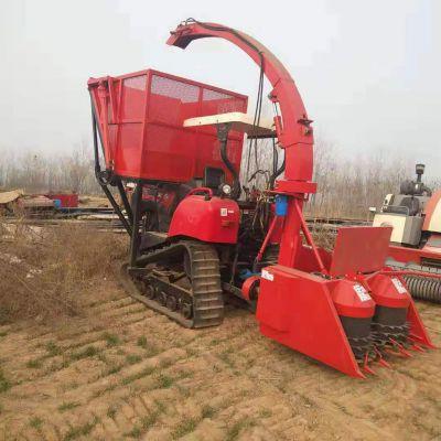 推荐销售新型履带式青储机 稻草粉碎机 玉米秸秆切碎铡草机