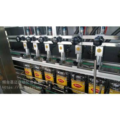 供应烟台飞达牌玻璃瓶高档油,亚麻籽油,茶油全自动灌装机