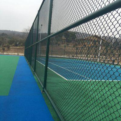 体育场框架围网 球场绿色铁丝网 高尔夫球场防护网