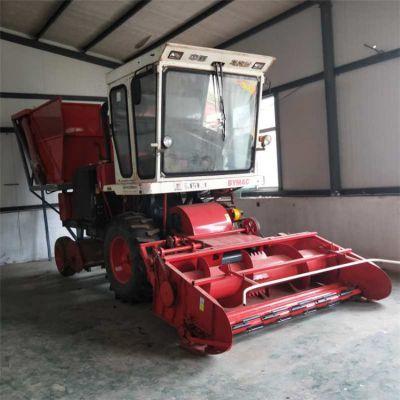 大型玉米秸秆收割机 燕麦草收割机 多功能玉米青储机厂家
