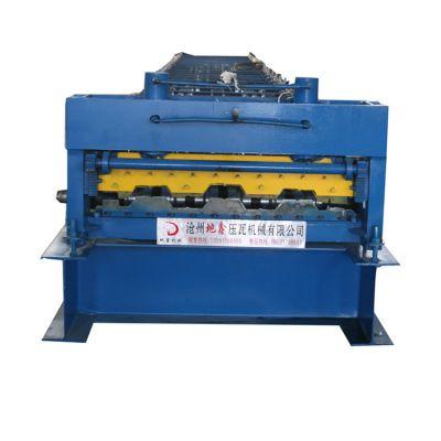 980楼承板机 楼面钢承板压型设备 地鑫出售各种楼承板机
