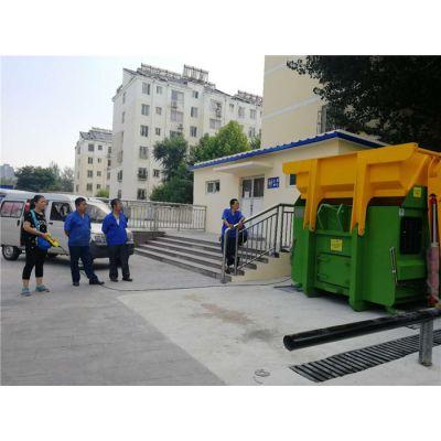 移动式垃圾压缩设备制造公司-泰达环保-垃圾压缩设备