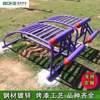 广州小区健身器材厂家 仰卧起坐镀锌路径价格 柏克体育健身器材