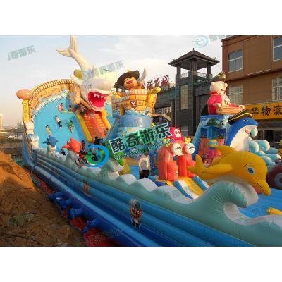 大圣归来充气滑梯蹦蹦床孩子爱玩的充气玩具