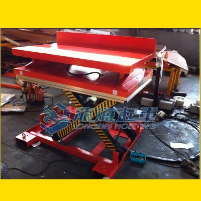【特殊定制】倾斜式电动升降平台,龙海起重厂家