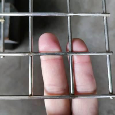 不锈钢电厂围墙防护网墙体加固复合网片304不锈钢丝网加粗加固
