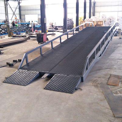 专业定制移动式登车桥 液压升降高度调节板 货车装卸用升降台