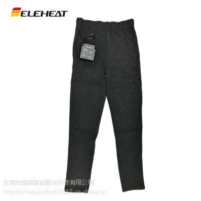 男女通用保暖全棉发热打底裤新款纯棉电加热裤子休闲弹力透气护膝