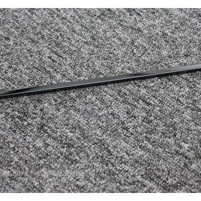 304不锈钢包边线条 客厅地板压条 专业钛金T型不锈钢装饰线条定做