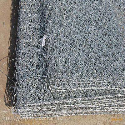 河道整治镀锌石笼pvc网格宾网雷诺护垫