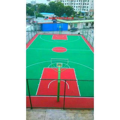 吉首小区学校硅PU篮球场施工报价 湘西室外篮球场施工材料定制厂