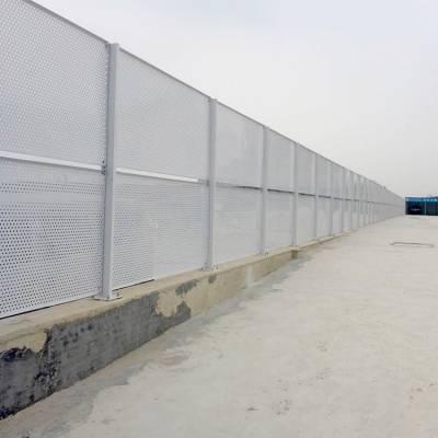 厂家直销肇庆车间隔离围挡 珠海工地基坑冲孔围挡 冲孔板护栏