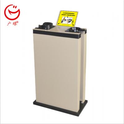 丹东广缘小型广告机产品招商代理 酒店银行用品 保洁设备 180度高温喷塑