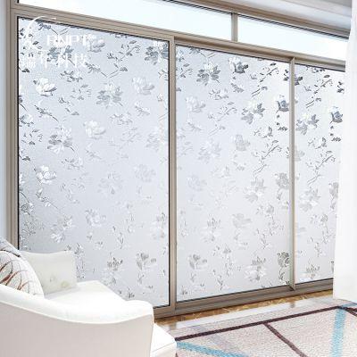 RNPT瑞年 厂家直销 无胶静电玻璃贴膜窗户玻璃贴膜窗花贴