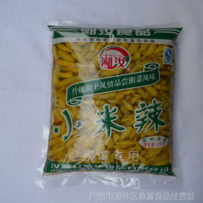 湘汝小米辣 盐渍菜 野山椒 新鲜泡椒小米辣 2000g *6袋装
