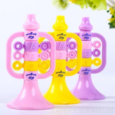 创意儿童塑料小玩具可吹的小喇叭宝宝卡通喇叭礼物乐器玩具批发