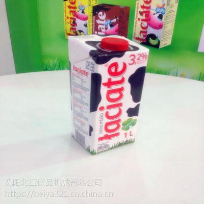 巴士奶盒封口机生产厂家北亚高速机