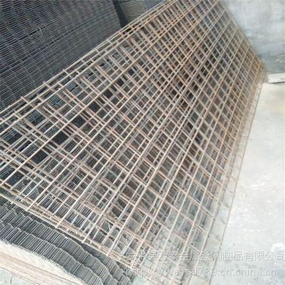 电焊网片施工 建筑钢筋网 网格状铁丝网片