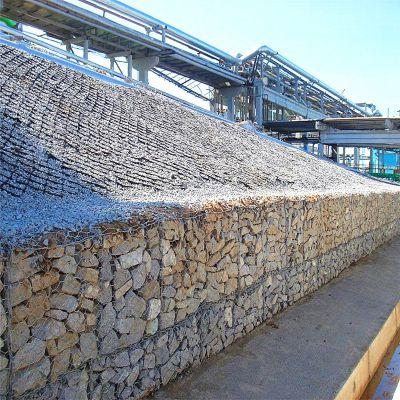 环标丝网供应优质格宾网石笼挡墙 生态绿色格宾网石笼挡墙厂家