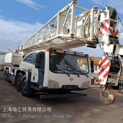 转让2015年出厂长江70吨起重机 二手长江70吨汽车吊 国产二手吊车价格