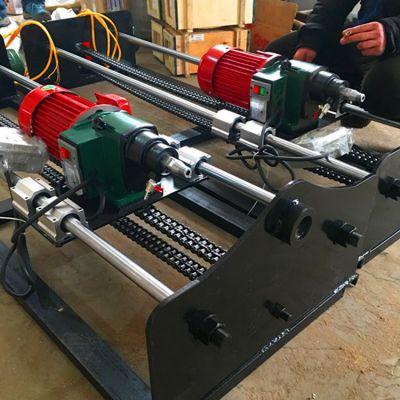 两个人操作的小型过路钻孔机 水平横向打孔机 地下钻孔机 洪鑫