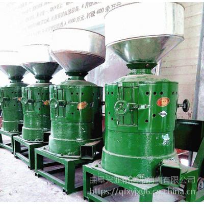 柳州碾米机生产厂家 农村黄谷子脱皮碾米机现货