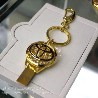 商务钥匙扣定制,汽车礼品锁匙扣生产,u盘钥匙配饰生产