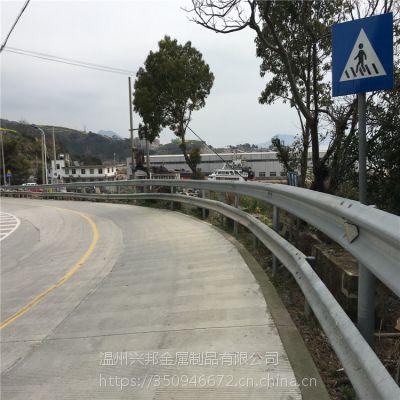 高速公路波形护栏板热镀锌立柱防撞栏桥梁交通安全防撞设施乡村道路护栏