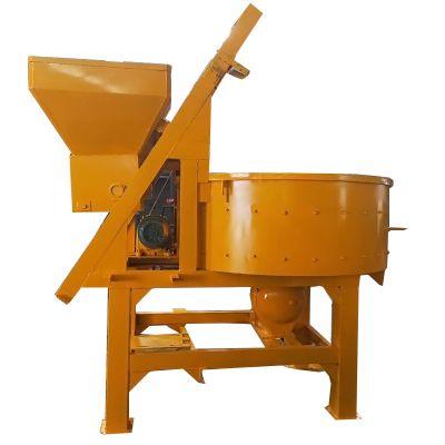 卓辉大型混凝土搅拌机 定制加厚底板直径一米三立式圆盘搅拌机