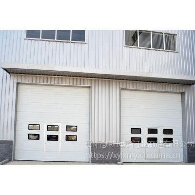 黄冈厂房电动工业提升门提升转折门