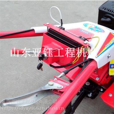 莱阳市多功能起垄机微耕机 小型手扶式电启动耕田机