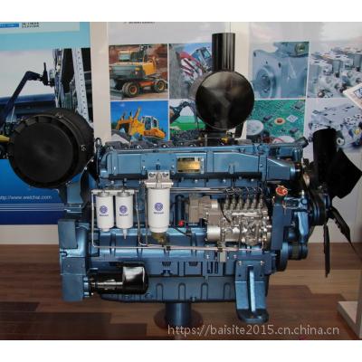 潍柴WD12D317E200发电型柴油机 蓝擎250千瓦柴油发电机组专用动力