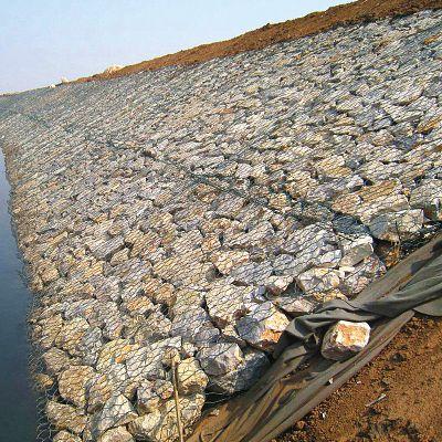 供应 格宾网石笼挡墙 环标丝网