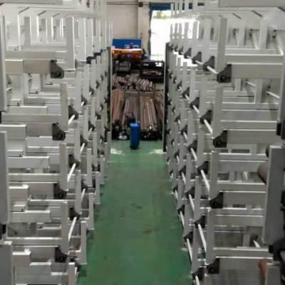 沈阳钢板立着存放架 板材货架 抽屉式结构设计