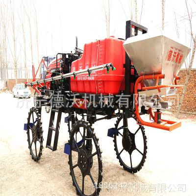 济宁德沃机械新款自走式喷杆喷药机2019年国家补贴
