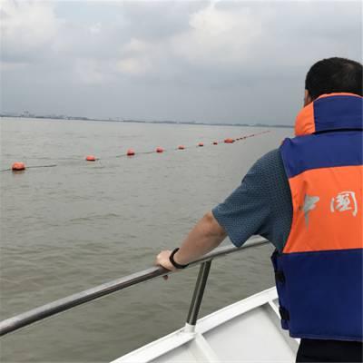 洛阳水源地水库警示浮标隔离带浮筒拦船浮球