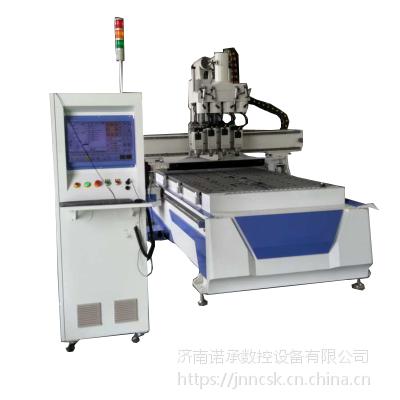 陕西NC-1325S双工位开料机 橱柜衣柜下料机报价 定制家具雕刻机价格