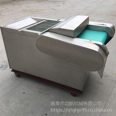 赵庄鱼冻切丁机 贵州鲜竹笋切片机 启航花生糕切片机价格